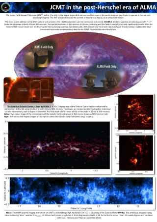 JCMT in the post-Herschel era of ALMA