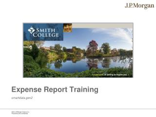 Expense Report Training