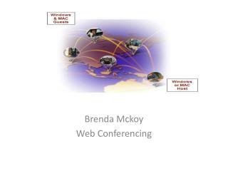 Brenda  Mckoy Web Conferencing
