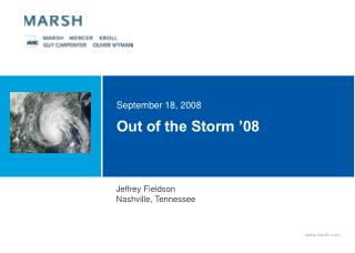 Out of the Storm '08
