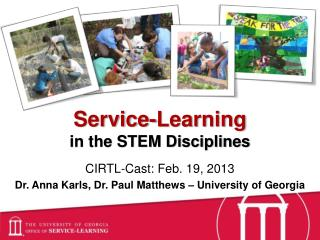 Service-Learning  in the STEM Disciplines
