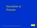 Surrealism in Portraits
