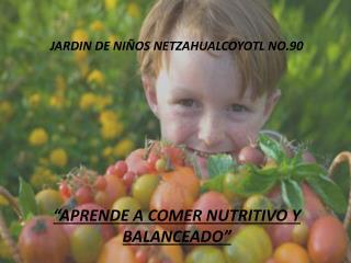 JARDIN DE NIÑOS NETZAHUALCOYOTL  NO.90