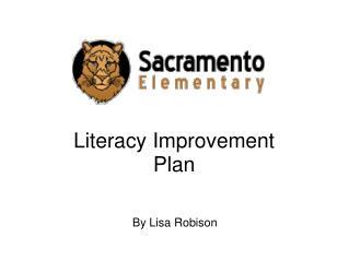 Literacy Improvement Plan