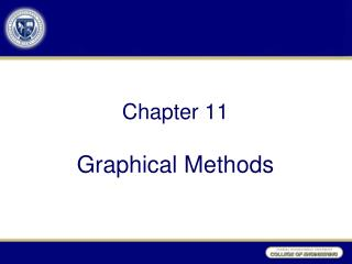 Chapter 11 Graphical Methods