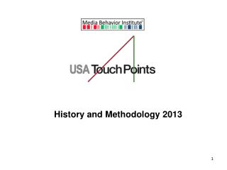 History and Methodology 2013
