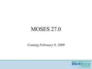 MOSES 27.0