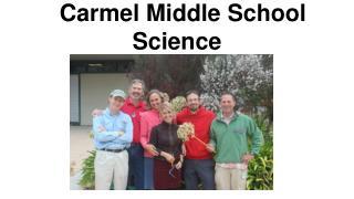 Carmel Middle School Science