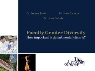Diversity Climate Survey