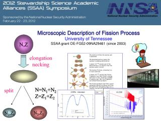 Microscopic Description of Fission Process University  of  Tennessee