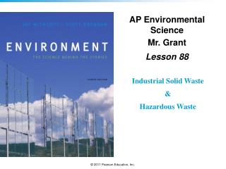AP Environmental Science Mr. Grant Lesson  88