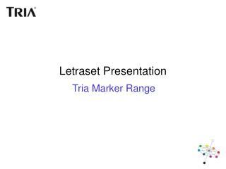 Letraset Presentation
