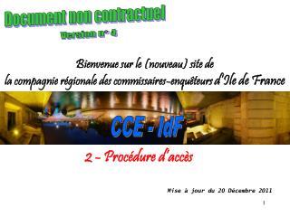 CCE - IdF