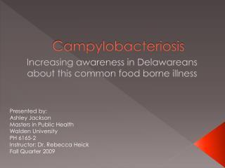 Campylobacteriosis
