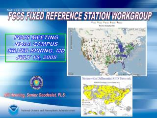 FGCS FIXED REFERENCE STATION WORKGROUP