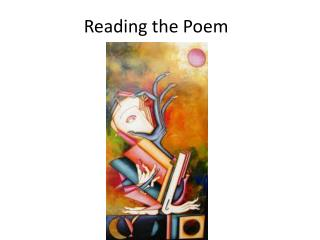 Reading the  Poem