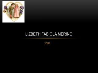 LIZBETH FABIOLA MERINO