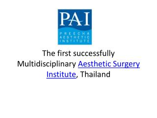 Sex Reassignment Surgery and Breast augmentation Thailand