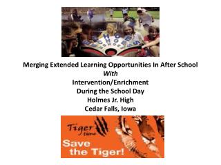 Vision of Holmes ECHOES and TIGER TIME Programs