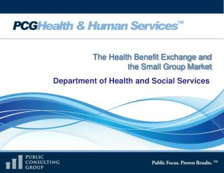The Health Benefit Exchange and  the Small Group Market