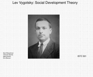 Lev Vygotsky: Social Development Theory