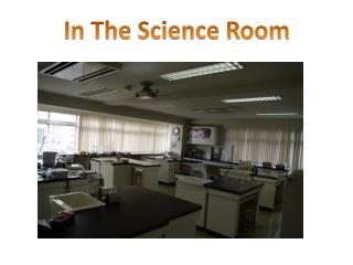 In The Science Room
