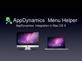 AppDynamics Menu Helper