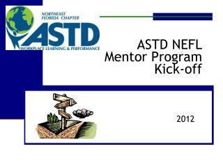 ASTD NEFL Mentor Program Kick-off
