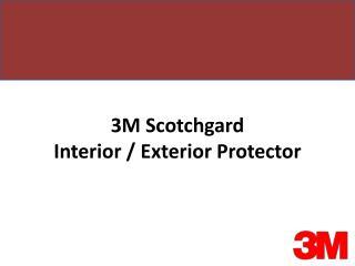 3M Scotchgard Interior / Exterior Protector