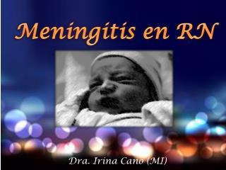 Dra. Irina Cano (MI)
