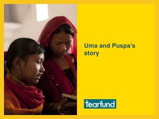 Uma and Puspa's story