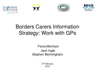 NHS Borders Carers Information Strategy