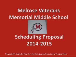 Melrose Veterans Memorial Middle School