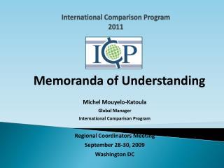 International Comparison Program 2011