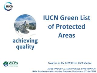 IUCN Green List of Protected Areas