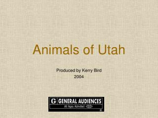 Animals of Utah
