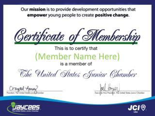 (Member Name Here)