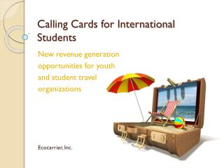 Calling Cards for International Students