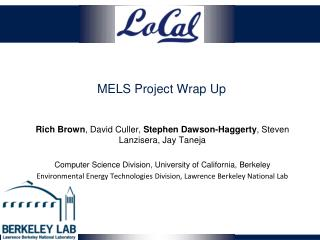 MELS Project Wrap  U p