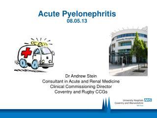 Acute Pyelonephritis 08.05.13
