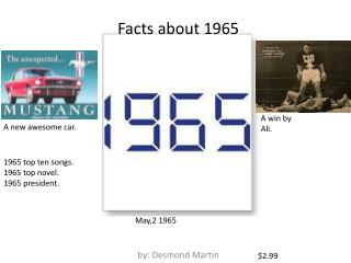 Facts about 1965