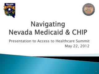 Navigating Nevada Medicaid & CHIP