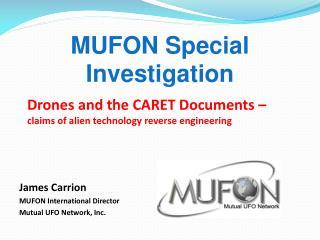 MUFON Special Investigation