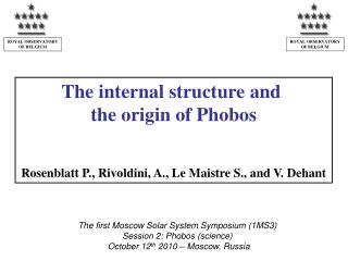The internal structure and  the origin of Phobos