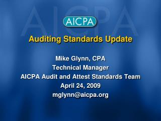 Auditing Standards Update