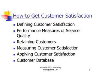 How to Get Customer Satisfaction