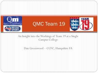 QMC Team 19