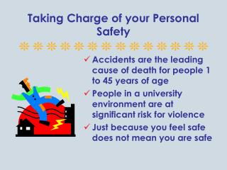 Taking Charge of your Personal Safety