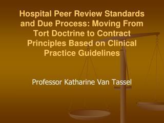 Professor Katharine Van Tassel
