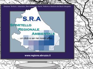 Sportello Regionale Ambientale